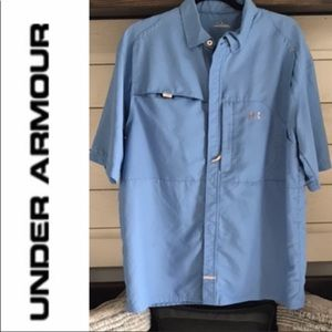 UNDER ARMOUR Vented Fishing/Hiking/Casual Shirt L